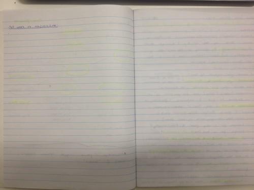 Empty Field Diary