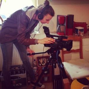 Shooting an interview