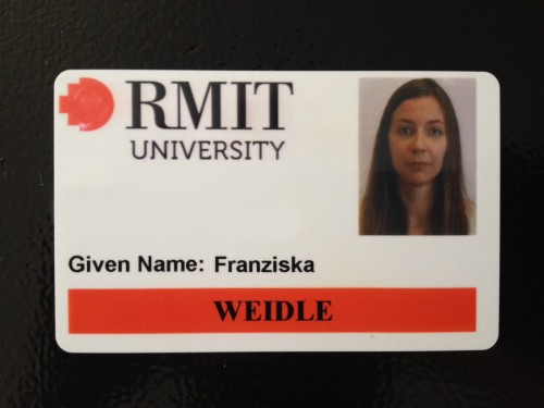 RMIT Staff Card